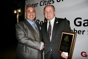 SCI SoCal President Anthony Al-Jamie with former L.A. City Councilman Tom LaBonge