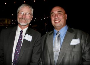 German Consul General of Los Angeles Hans Jörg Neumann with SCI SoCal President Anthony Al-Jamie