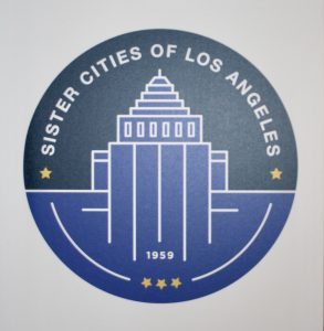 New logo of Sister Cities of Los Angeles